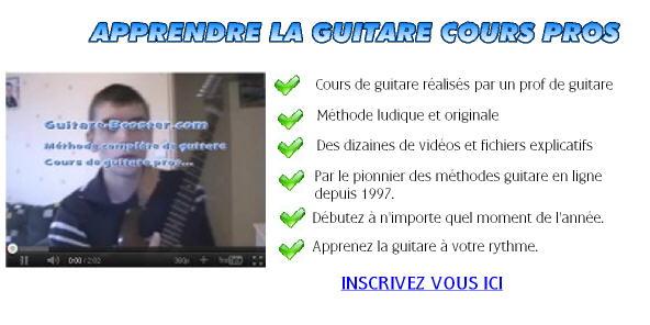 Aprendre la guitare méthode complète